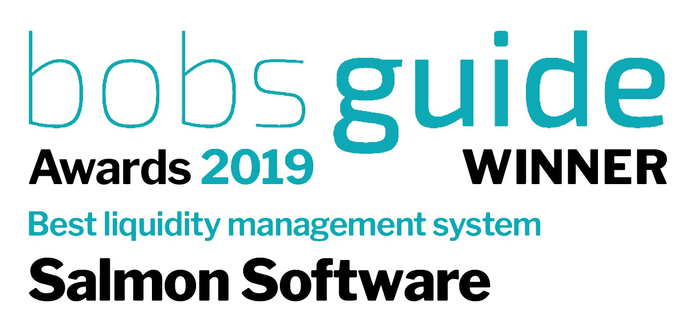 Salmon Software bobsguide award 2019 the best liquidity management system